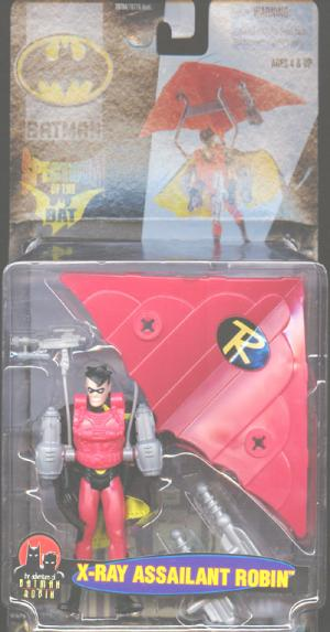 X-Ray Assailant Robin Batman Spectrum Bat action figure