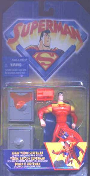 X-Ray Vision Superman Animated action figure