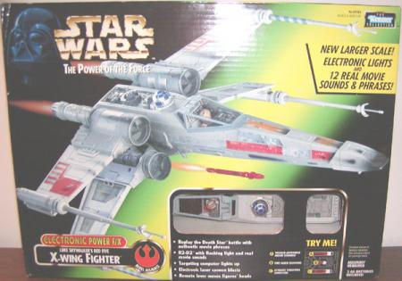 Luke Skywalkers Red Five X-wing Fighter Power FX vehicle