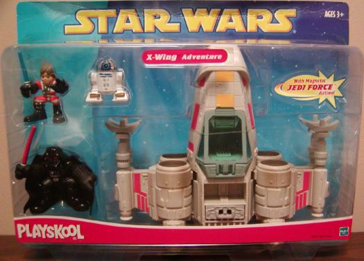 X-wing Adventure 4-Pack Star Wars Playskool action figures