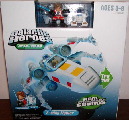 X-wing Fighter Galactic Heroes Star Wars action figure vehicle