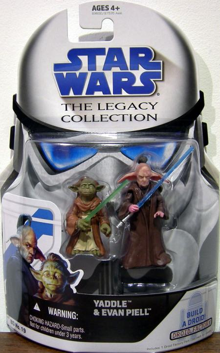 Yaddle Evan Piell Legacy Collection Star Wars action figures