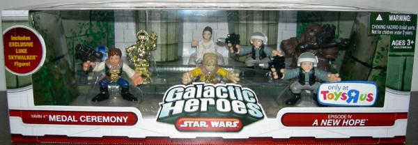 Yavin 4 Medal Ceremony Action Figures Star Wars Galactic Heroes
