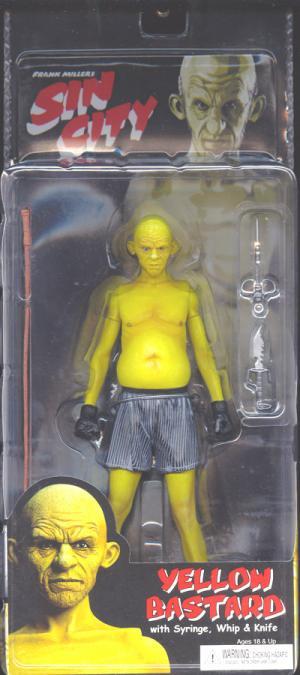 Yellow Bastard Fran Miller Sin City action figure