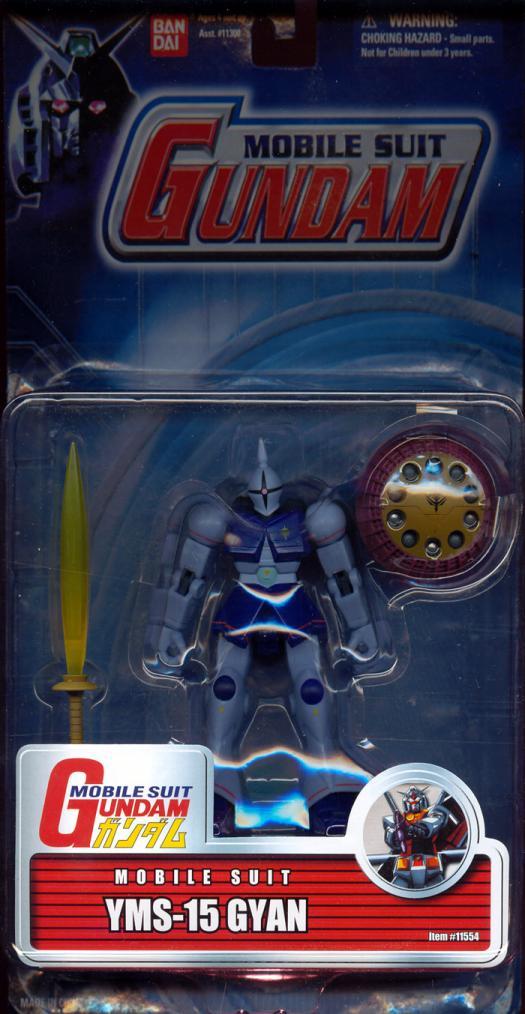 YMS-15 GYAN Figure Mobile Suit Gundam Bandai