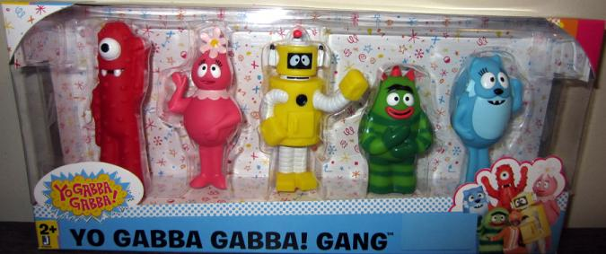 Yo Gabba Gabba Gang 5-Pack action figures