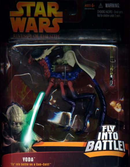 Yoda Can-Cell Deluxe Revenge Sith Star Wars action figures