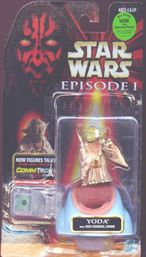 Yoda Episode 1 Text Star Wars Revenge Sith action figure