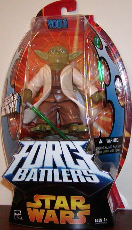 Yoda Force Battlers Star Wars action figure