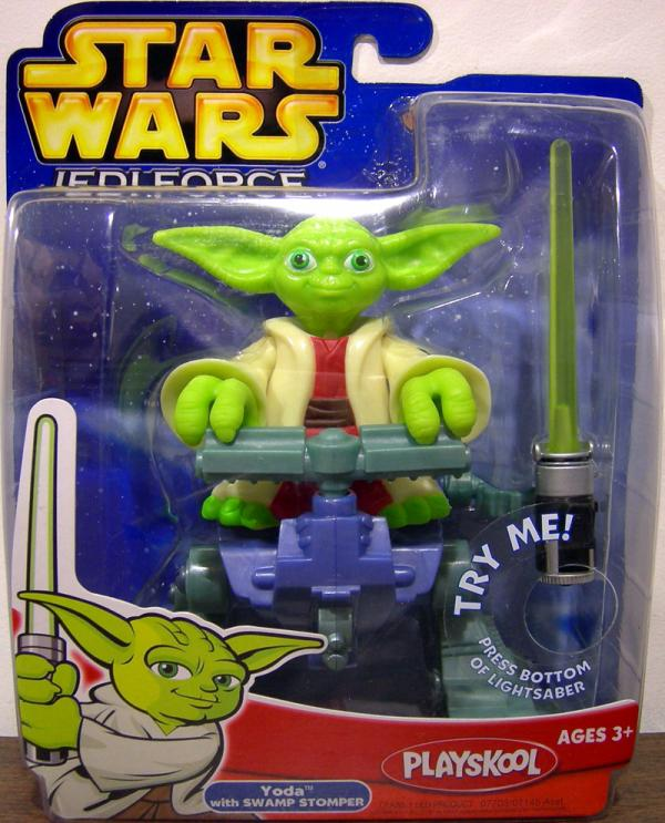 Yoda Swamp Stomper Jedi Force Star Wars action figure