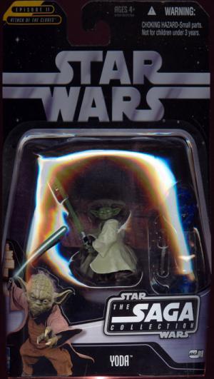 Yoda Saga Collection 019 Star Wars Attack Clones action figure