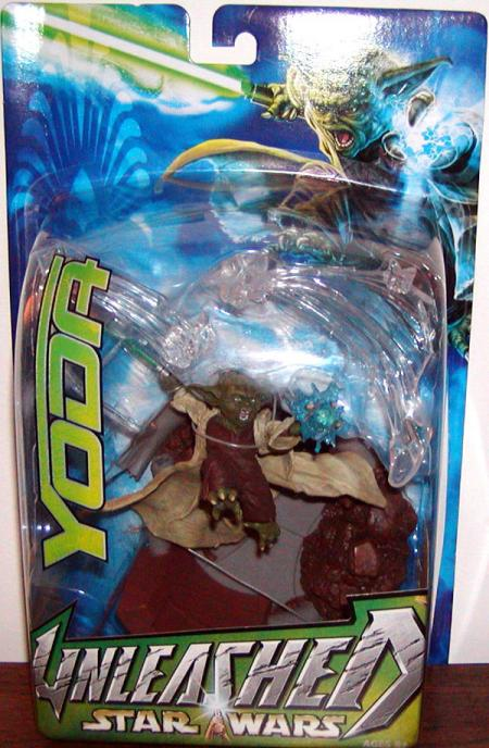 Yoda Unleashed Star Wars action figure