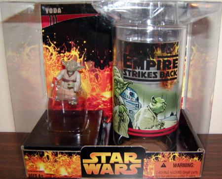 Yoda Collectors Cup Star Wars Empire Strikes Back action figure