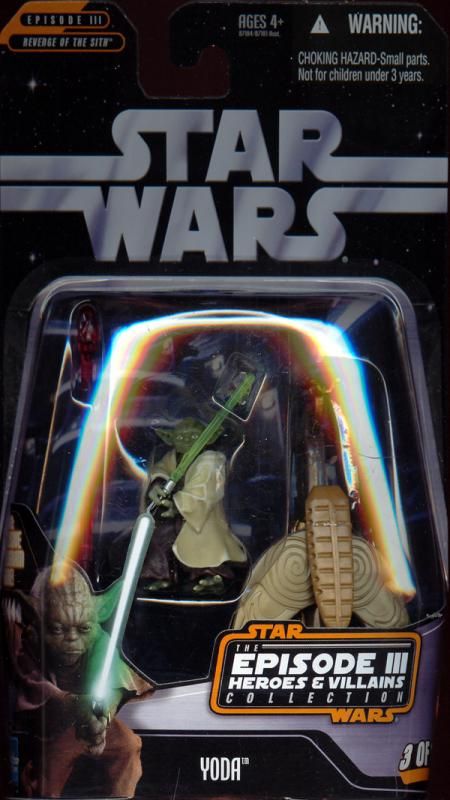 Yoda Episode III Heroes Villains Collection Star Wars action figure