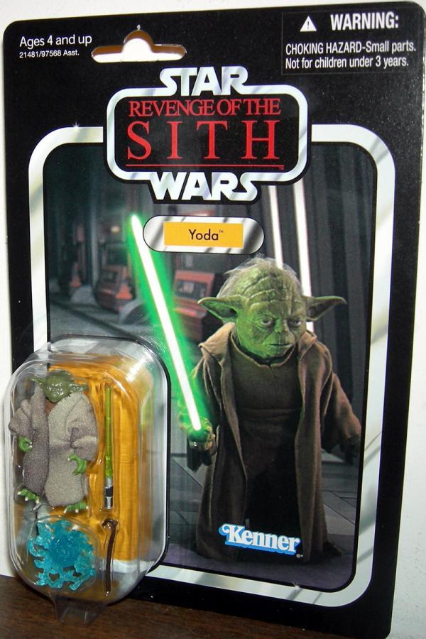 Yoda VC20 Star Wars Revenge Sith action figure