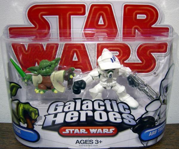 Yoda Arf Trooper Figures Star Wars Galactic Heroes