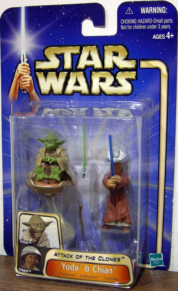 Yoda Chian Star Wars Attack Clones action figures