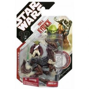 Yoda Kybuck 30th Anniversary Star Wars action figures