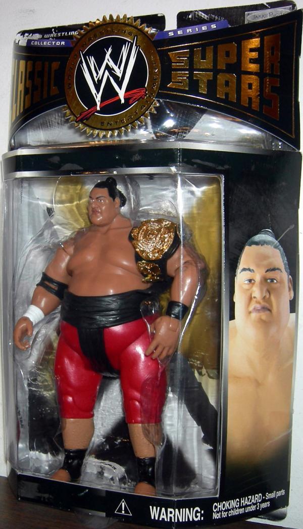 Yokozuna WWE Classic Super Stars Series 4 Action Figure