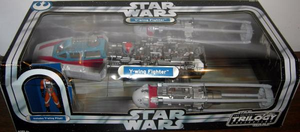 Y-wing Fighter Pilot Original Trilogy Collection Star Wars Vehicle