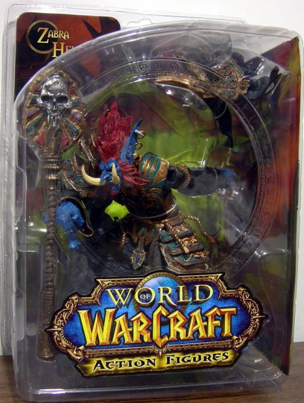 Troll Priest Zabra Hexx World Warcraft action figure