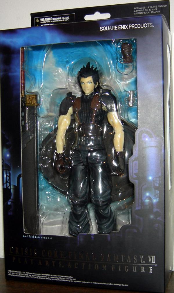 Zack Fair Action Figure Crisis Core Final Fantasy VII Play Arts