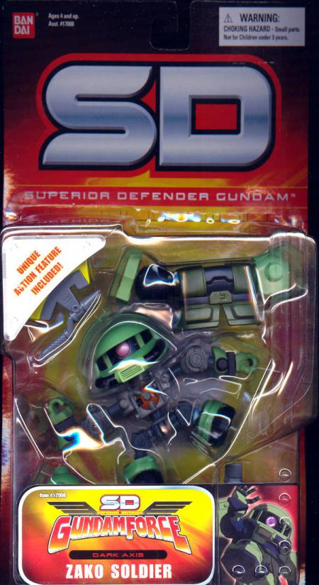 Zako Soldier Superior Defender Gundam SD action figure