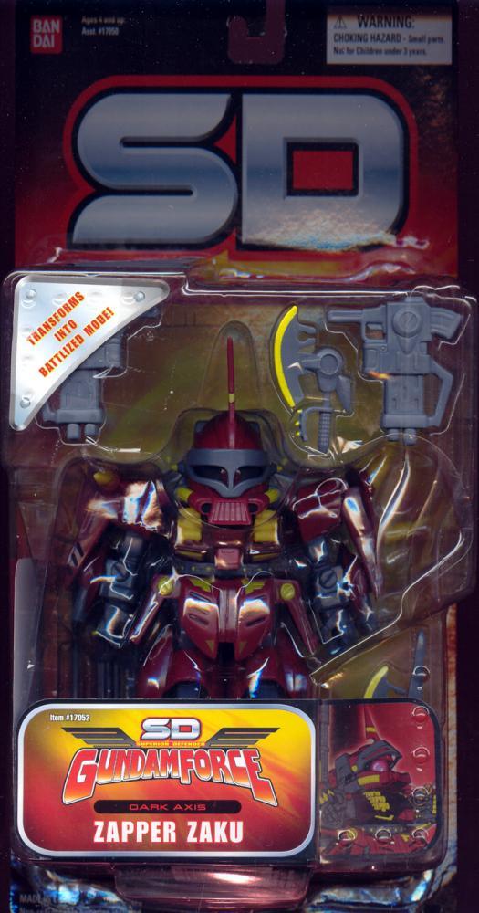 Zapper Zaku Figure SD Superior Defender Gundam