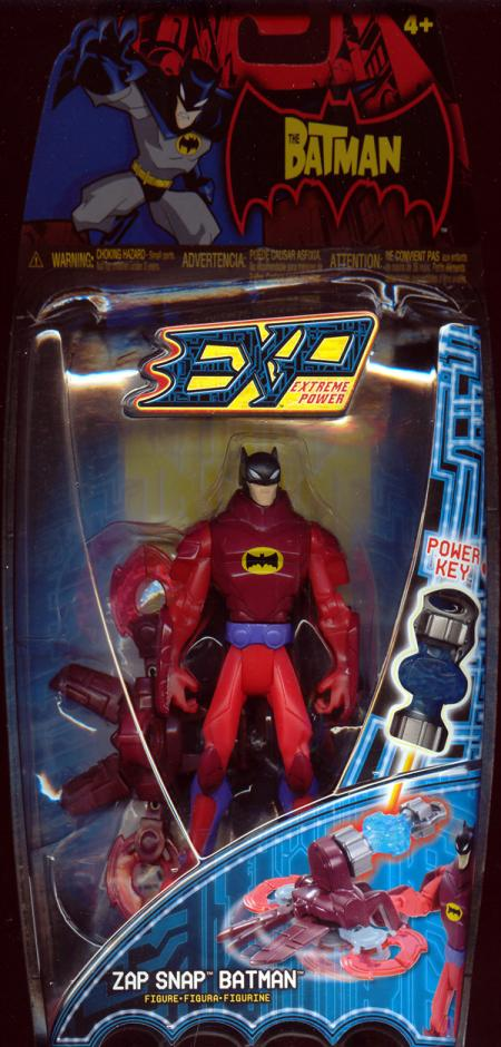 Zap Snap Batman EXP Extreme Power action figure