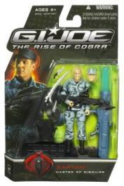 Zartan Master Disguise GI Joe Rise Cobra Movie action figure