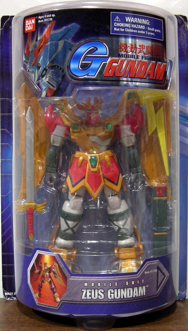 Zeus Gundam Mobile Fighter G action figure