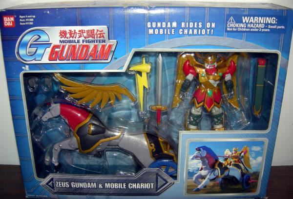 Zeus Gundam Wing Mobile Chariot action figures