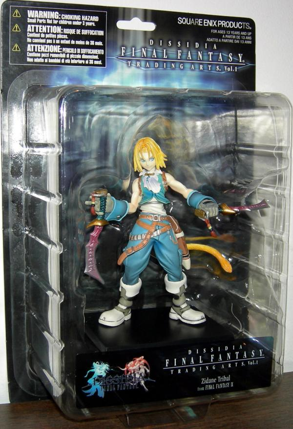 Zidane Tribal Dissidia Final Fantasy Trading Arts action figure
