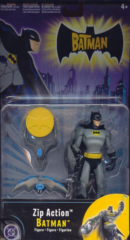 Zip Action Batman action figure