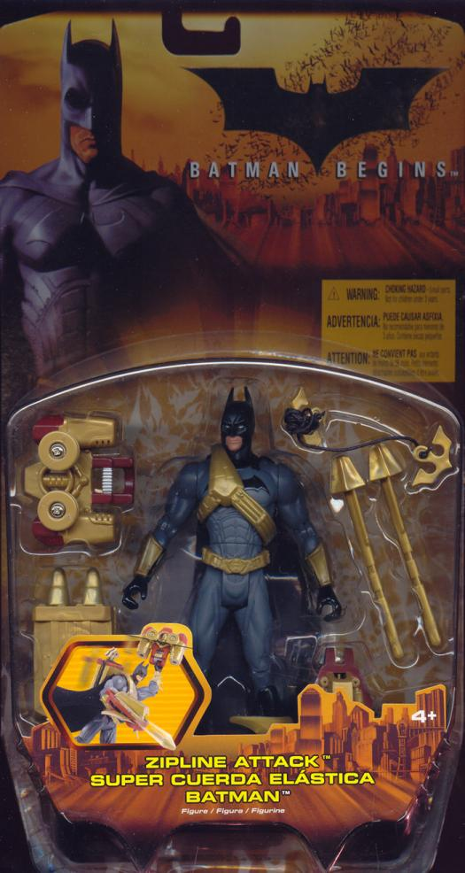 Zipline Attack Batman Begins action figure