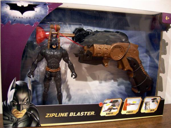 Zipline Blaster Dark Knight action figure
