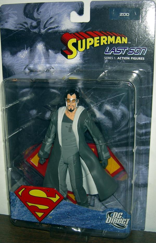 Superman- Last Son- Zod DC Direct