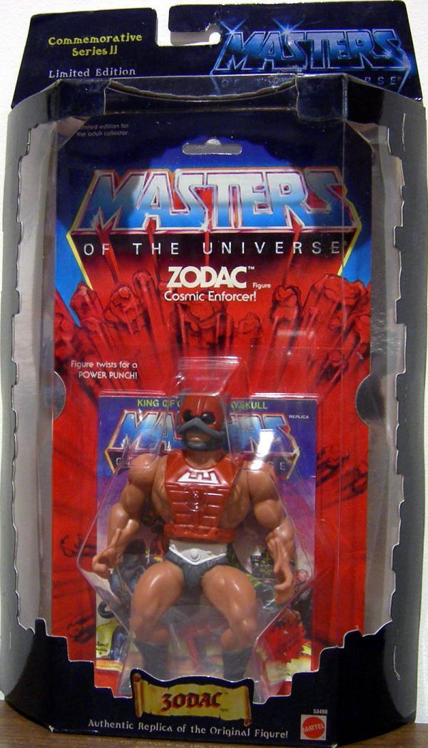 Zodac Commemorative Series II Masters Universe He-Man action figure
