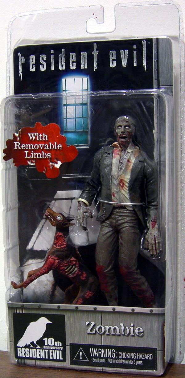 Zombie 10th Anniversary Resident Evil action figure