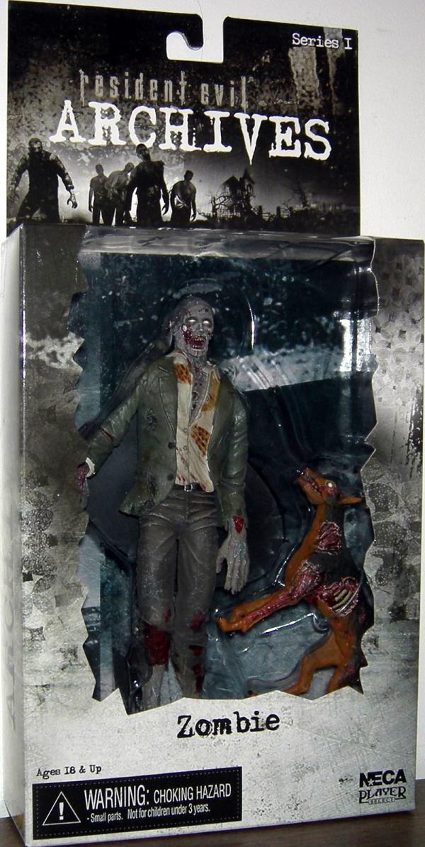 Zombie Archives Series 1 Resident Evil action figure