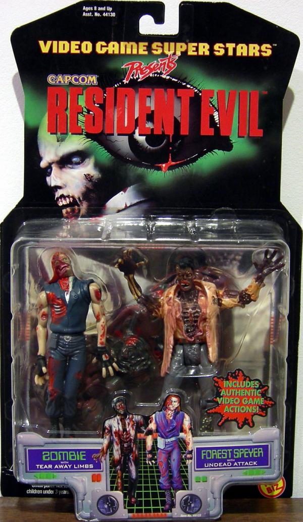Zombie Forest Speyer Resident Evil action figure