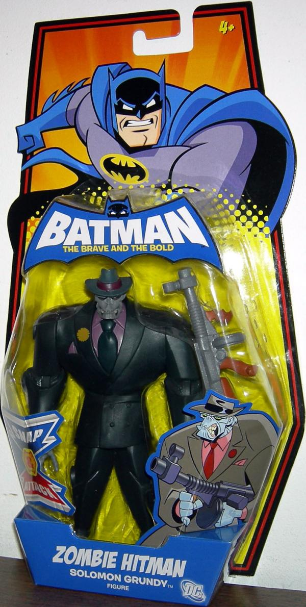 Zombie Hitman Solomon Grundy Action Figure Batman Brave Bold