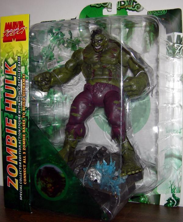 Zombie Hulk Figure Marvel Select Diamond