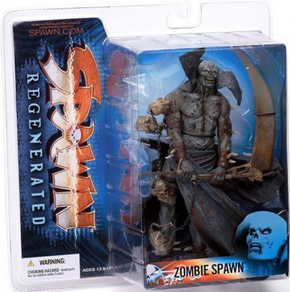 Zombie Spawn 2 Regenerated Variant action figure