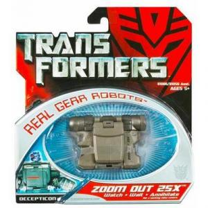 Zoom Out 25X Movie Real Gear Transformers action figure