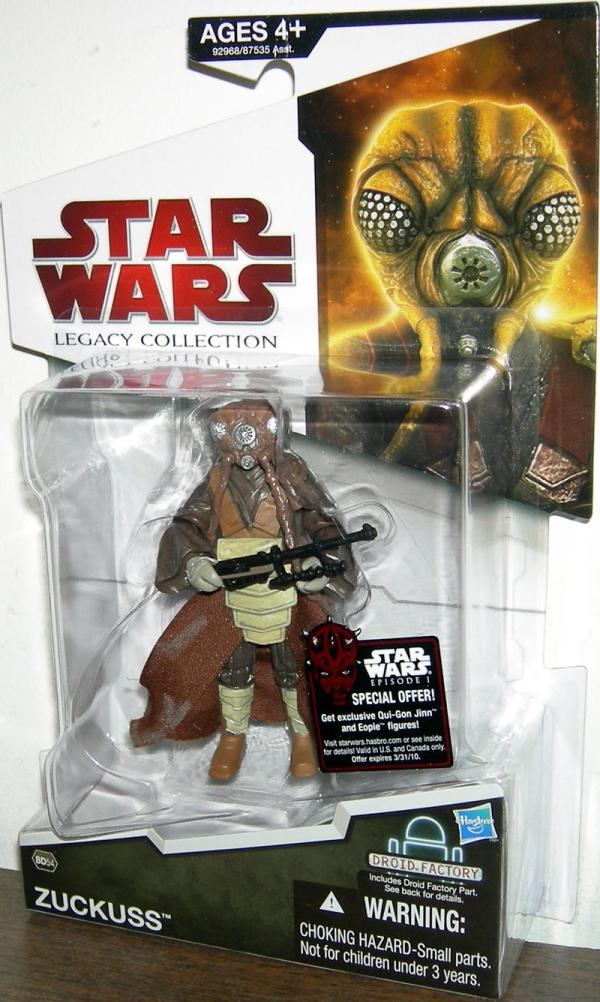 Zuckuss BD54 Star Wars Legacy Collection action figure