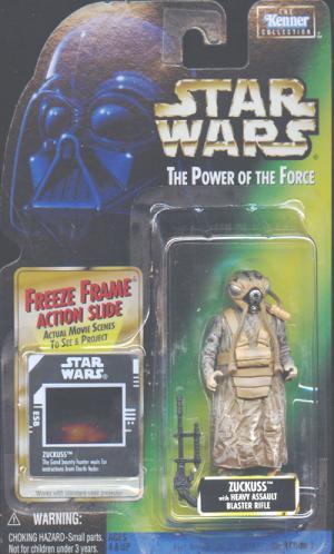Zuckuss Freeze Frame Star Wars Power Force action figure
