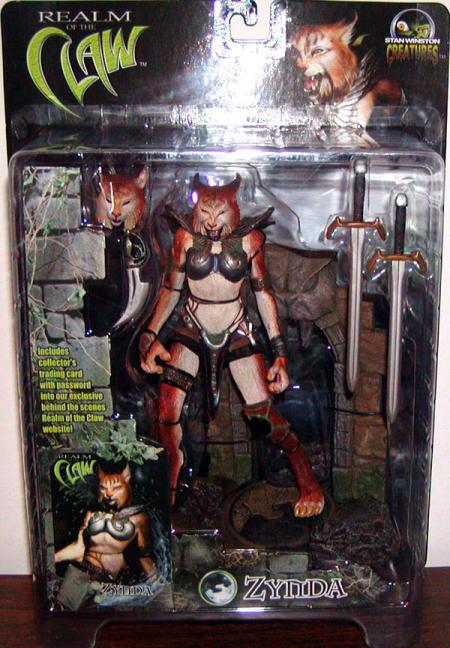 Zynda Stan Winston Creatures Realm Claw action figure