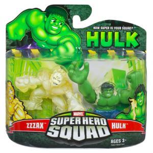 Zzzax Hulk Super Hero Squad action figures