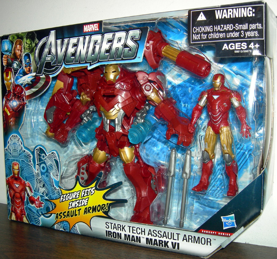 Stark Tech Assault Armor Iron Man Mark VI (Avengers)